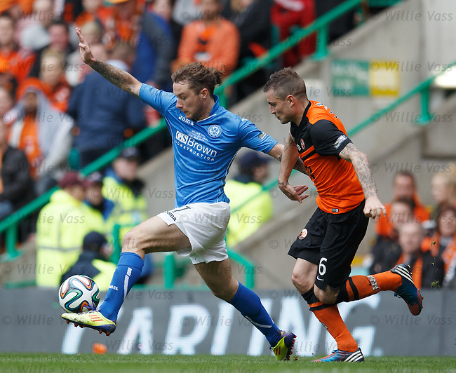 Stevie May and Paul Paton