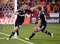 Washington, DC - April 26, 2014: D.C. United defeated FC  Dallas 4-1 at RFK Stadium.
