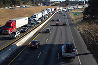 Never-ending I-35 Traffic Nightmare, Austin has worst traffic in the United States.