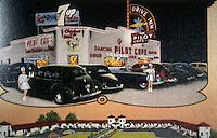 Diners:  Pilot Cafe, Salt Lake City UT, 1941. 1947 view. Demolished.