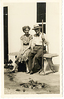 BNPS.co.uk (01202 558833)<br /> Pic: Bonhams/BNPS<br /> <br /> Fleming  with his neice Mary Anne Johnston at his home in Barton Mills in Suffolk - she is now selling two culture's from of his ground breaking penicillin discovery that has since saved millions of lives..<br /> <br /> Two samples of mould that Sir Alexander Fleming used to produce penicillin have emerged for sale as part of a remarkable &pound;15,000 archive relating to the legendary scientist.<br /> <br /> Both specimens of the yellow-green Penicillium Notatum fungus are contained on a glass disc and date back to the 1930s when Fleming was developing his 1928 discovery of penicillin. <br /> <br /> The treatment has gone on the save millions of lives across the world.<br /> <br /> Indeed, as part of the archive that has emerged at Bonhams is a poignant letter of thanks from a father to the biologist for helping to save his daughter's life.