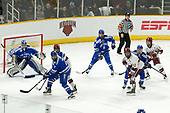 Shane Starrett (AFA - 40), Matt Koch (AFA - 7), Ty Pelton-Byce (Harvard - 11), Kyle Mackey (AFA - 2), Devin Tringale (Harvard - 22), Evan Feno (AFA - 18), Michael Floodstrand (Harvard - 44) - The Harvard University Crimson defeated the Air Force Academy Falcons 3-2 in the NCAA East Regional final on Saturday, March 25, 2017, at the Dunkin' Donuts Center in Providence, Rhode Island.
