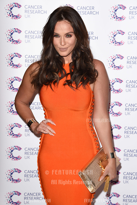 Vicky Pattison arriving at James Ingham&rsquo;s Jog On to Cancer, in aid of Cancer Research UK at The Roof Gardens in Kensington, London.  <br /> 12 April  2017<br /> Picture: Steve Vas/Featureflash/SilverHub 0208 004 5359 sales@silverhubmedia.com