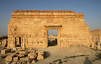 Side entry to the Agora, 2nd century AD, Palmyra, Syria Picture by Manuel Cohen