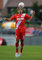 Fussball 1. Bundesliga:  Saison  Vorbereitung 2012/2013     Testspiel: Bayer 04 Leverkusen - FC Augsburg  25.07.2012 Jan Morawek (FC Augsburg)