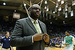 16 January 2016: Notre Dame assistant Harold Swanagan. The Duke University Blue Devils hosted the University of Notre Dame Fighting Irish at Cameron Indoor Stadium in Durham, North Carolina in a 2015-16 NCAA Division I Men's Basketball game. Notre Dame won the game 95-91.