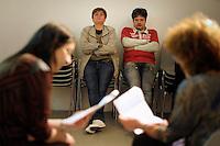 Corso di teatro di Lucia Panaro. Prove dello spettacolo. Graziano Panaro.<br /> Theatre course Lucia Panaro. Rehearsals for the show.