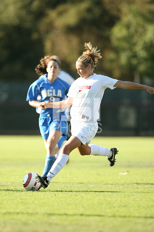 30 October 2005: Marisa Abegg during Stanford's 0-0 tie to #4 ranked UCLA at Maloney Field in Stanford, CA.