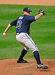 12 April 2008: Atlanta Braves' pitcher Will Ohman in action against the Washington Nationals at Nationals Park, in Washington, DC. The Braves defeated the Nationals 10-2...Mandatory Photo Credit: Ed Wolfstein Photo