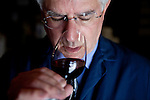 Darrell Corti tastes wine at Corti Bros. in Sacramento, Calif., March 3, 2012.