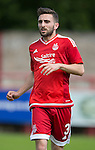 Aberdeen v St Johnstone...28.06.15  Glebe Park, Brechin..Pre-Season Friendly<br /> Graeme Shinnie<br /> Picture by Graeme Hart.<br /> Copyright Perthshire Picture Agency<br /> Tel: 01738 623350  Mobile: 07990 594431