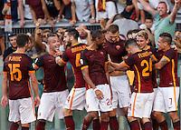 20150830 ROMA-CALCIO: LA ROMA BATTE LA JUVENTUS CHE RIMANE A 0 PUNTI