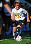 28 August 2009: University of Vermont Catamounts' midfielder Sarah Coggins, a Freshman from Cohasset, MA, in action against the University of Montreal Carabins at Centennial Field in Burlington, Vermont. The Catamounts defeated the Carabins 3-2 in sudden death overtime. Mandatory Photo Credit: Ed Wolfstein Photo
