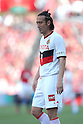 Marcus Tulio Tanaka (Grampus), APRIL 24th, 2011 - Football : J.LEAGUE Division 1, 7th Sec match between Urawa Reds 3-0 Nagoya Grampus at Saitama Stadium 2002, Saitama, Japan. The J.League resumed on Saturday 23rd April after a six week enforced break following the March 11th Tohoku Earthquake and Tsunami. All games kicked off in the daytime in order to save electricity and title favourites Kashima Antlers are still unable to use their home stadium which was damaged by the quake. Velgata Sendai, from Miyagi, which was hard hit by the tsunami came from behind for an emotional 2-1 victory away to Kawasaki. (Photo by Akihiro Sugimoto/AFLO SPORT) [1080].