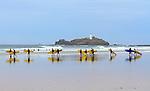 Gwithian Surf School, Cornwall