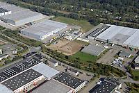 Gewerbegebiet Allermoehe: EUROPA, DEUTSCHLAND, HAMBURG, (GERMANY), 03.10.2015 Gewerbegebiet Allermoehe, Rungedamm, Werner Schroeder Strasse