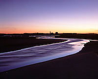 Cape Cod National Seashore, Massachusetts, Race Point Lighthouse,  Flowing water, dus