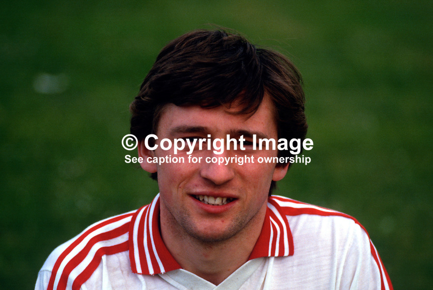 Mickey McClure, GAA footballer, Tyrone, N Ireland, 19870607MMC..Copyright Image from Victor Patterson, 54 Dorchester Park, Belfast, UK, BT9 6RJ..Tel: +44 28 9066 1296.Mob: +44 7802 353836.Voicemail +44 20 8816 7153.Skype: victorpattersonbelfast.Email: victorpatterson@me.com.Email: victorpatterson@ireland.com (back-up)..IMPORTANT: If you wish to use this image or any other of my images please go to www.victorpatterson.com and click on the Terms & Conditions. Then contact me by email or phone with the reference number(s) of the image(s) concerned.