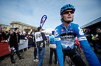 Paris-Roubaix 2012 ..2011 Roubaix-winner Johan Van Summeren at the start