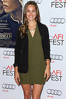 HOLLYWOOD, LOS ANGELES, CA, USA - NOVEMBER 11: Bailey Noble arrives at the AFI FEST 2014 - 'The Homesman' Gala Screening held at the Dolby Theatre on November 11, 2014 in Hollywood, Los Angeles, California, United States. (Photo by Xavier Collin/Celebrity Monitor)