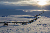 Arctic north slope