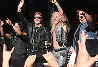 NEW YORK, NY-September 02: Eddie Ojeda, Jay Jay French, Dee Snider,Mike Portnoy, of Twisted Sister performed on Fox & Friends All-American Summer Concert Series in New York. NY September 02, 2016. Credit:RW/MediaPunch