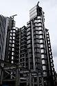 London, UK. 04.04.2015. The Lloyds Building, the City, London, UK. Photograph © Jane Hobson.