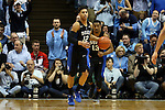 17 February 2016: Duke's Derryck Thornton. The University of North Carolina Tar Heels hosted the Duke University Blue Devils at the Dean E. Smith Center in Chapel Hill, North Carolina in a 2015-16 NCAA Division I Men's Basketball game. Duke won the game 74-73.