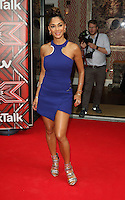 Nicole Scherzinger at the Press launch of 'The X Factor' 2016 at the Ham Yard Hotel, London on 25th August 2016<br /> CAP/ROS<br /> &copy;Ross/Capital/MediaPunch