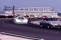 The Pace Car leads the field during a yellow flag caution period, 12 Hours or Sebring, Sebring International Raceway, Sebring, FL, March 19, 1983.  (Photo by Brian Cleary/bcpix.com)