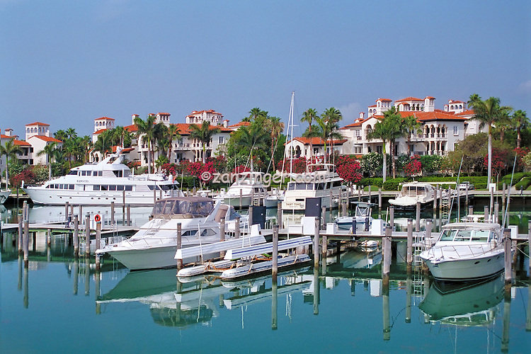 Fisher Island, Miami, Florida, Boats Docked, Luxury, Yachts, Sailboats ...