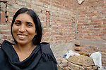 A female sex worker in a small Pakistani village..
