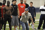 Pro Day in the IPF in Oxford, Miss. on Tuesday, March 23, 2010.