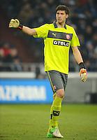 FUSSBALL   1. BUNDESLIGA   SAISON 2012/2013    23. SPIELTAG FC Schalke 04 - Fortuna Duesseldorf                        23.02.2013 Torwart Fabian Giefer (Duesseldorf)