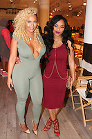 NEW YORK, NY - SEPTEMBER 13: Kimbella and J. Adrian pictured at the Vipe Activewear Fashion Show featuring Vipe Noir by Angela Simmons at KIA Style 360 during New York Fashion Week on September 13, 2016. Credit: Walik Goshorn/MediaPunch