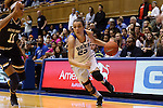 01 February 2016: Duke's Rebecca Greenwell (23) and Notre Dame's Brianna Turner (11). The Duke University Blue Devils hosted the University of Notre Dame Fighting Irish at Cameron Indoor Stadium in Durham, North Carolina in a 2015-16 NCAA Division I Women's Basketball game. Notre Dame won the game 68-61.