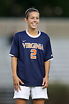 26 September 2013: Virginia's Kate Norbo. The Duke University Blue Devils hosted the University of Virginia Cavaliers at Koskinen Stadium in Durham, NC in a 2013 NCAA Division I Women's Soccer match. Virginia won the game 3-2.