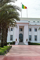 Dakar, Senegal.  Presidential Palace.