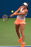 NEW YORK, NY - August 26, 2013: Laura Robson during her first round single's match at the 2013 US Open in New York, NY on Monday, August 26, 2013.