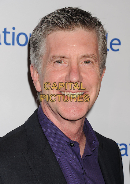 Tom Bergeron.Operation Smile's 30th Anniversary Smile Gala at The Beverly Hilton Hotel in Beverly Hills, California, USA..September 28, 2012.   .headshot portrait black purple shirt.CAP/ROT/TM.©Tony Michaels/Roth Stock/Capital Pictures