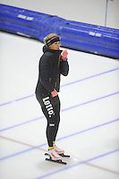 SCHAATSEN: HEERENVEEN: 24-10-2014, IJsstadion Thialf, Trainingswedstrijd, ©foto Martin de Jong