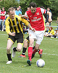 MAY 19 Ralf Little plays Charity Soccer