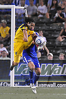Fabian Espindola...Kansas City Wizards and Real Salt Lake played to a 1-1 tie at Community America Ballpark, Kansas City, Kansas.