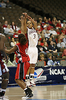18 March 2006: Markisha Coleman during Stanford's 72-45 win over Southeast Missouri State in the first round of the NCAA Women's Basketball championships at the Pepsi Center in Denver, CO.