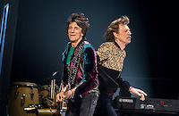 LAS VEGAS, NV - October 22, 2016: The Rolling Stones perform at T-Mobile Arena in Las vegas, NV on October 22, 2016. Credit: Erik Kabik Photography/ MediaPunch