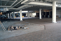 1983 January..Redevelopment.Downtown South (R-9)..WATERSIDE.CONSTRUCTION PROGRESS.PARKING GARAGE...NEG#.NRHA#..