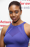 Condola Rashad attends The Actors Fund Annual Gala at the Marriott Marquis on 5/8//2017 in New York City.