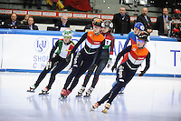 SHORT TRACK: TORINO: 15-01-2017, Palavela, ISU European Short Track Speed Skating Championships, Final Relay Ladies, Suzanne Schulting (NED), ©photo Martin de Jong
