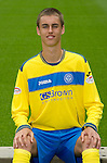 St Johnstone FC...Season 2011-12.Keiran Stewart.Picture by Graeme Hart..Copyright Perthshire Picture Agency.Tel: 01738 623350  Mobile: 07990 594431
