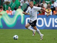Jay DeMerit. USA Men's National Team loses to Mexico 2-1, August 12, 2009 at Estadio Azteca, Mexico City, Mexico. .   .